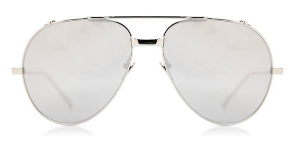 Image of Linda Farrow Aurinkolasit Aviator White Gold LFL426 C2