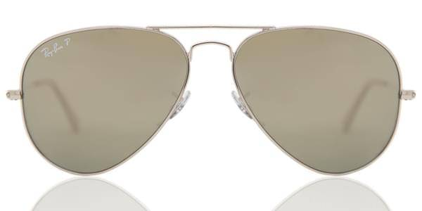 Image of Ray-Ban Aurinkolasit RB3025 Aviator Large Metal Polarized 003/59