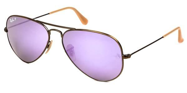 Image of Ray-Ban Aurinkolasit RB3025 Aviator Flash Lenses Polarized 167/1R
