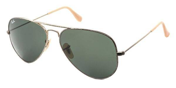 Image of Ray-Ban Aurinkolasit RB3025 Aviator Distressed 177