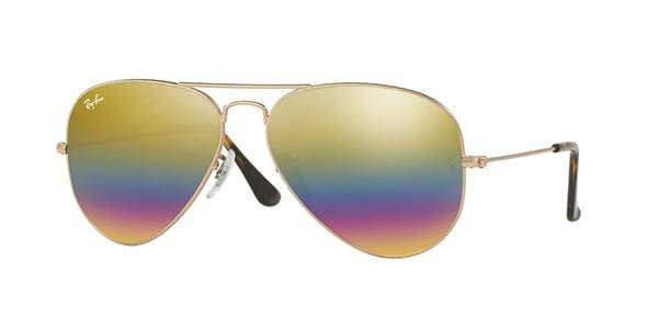 Image of Ray-Ban Aurinkolasit RB3025 Aviator Large Metal 9020C4