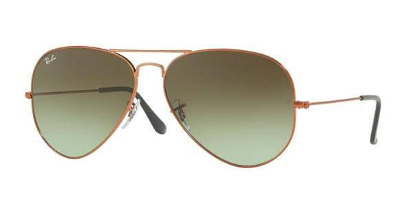 Image of Ray-Ban Aurinkolasit RB3026 Aviator Large Metal II 9002A6
