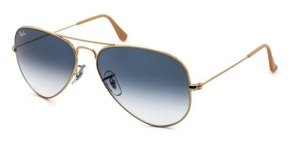 Image of Ray-Ban Aurinkolasit RB3025 Aviator Gradient 001/3F