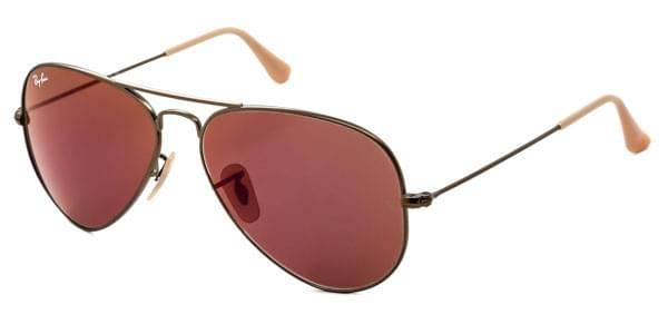 Image of Ray-Ban Aurinkolasit RB3025 Aviator Flash Lenses 167/2K