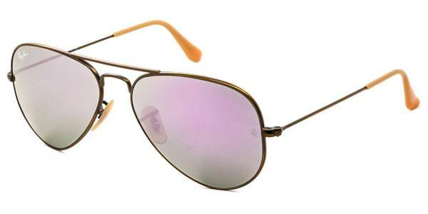 Image of Ray-Ban Aurinkolasit RB3025 Aviator Flash Lenses 167/4K