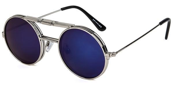 Spitfire Aurinkolasit Lennon Flip Silver/Clear/Blue