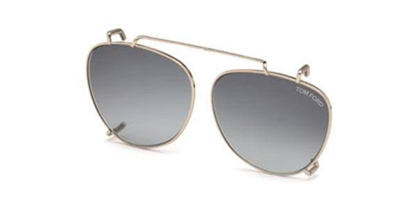 Image of Tom Ford Aurinkolasit FT5513-CL Clip On 28B