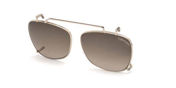 Image of Tom Ford Aurinkolasit FT5514-CL Clip On 28K