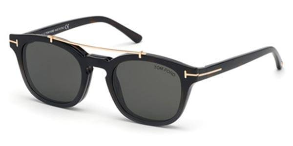 Image of Tom Ford Aurinkolasit FT5532-B With Clip On 55A