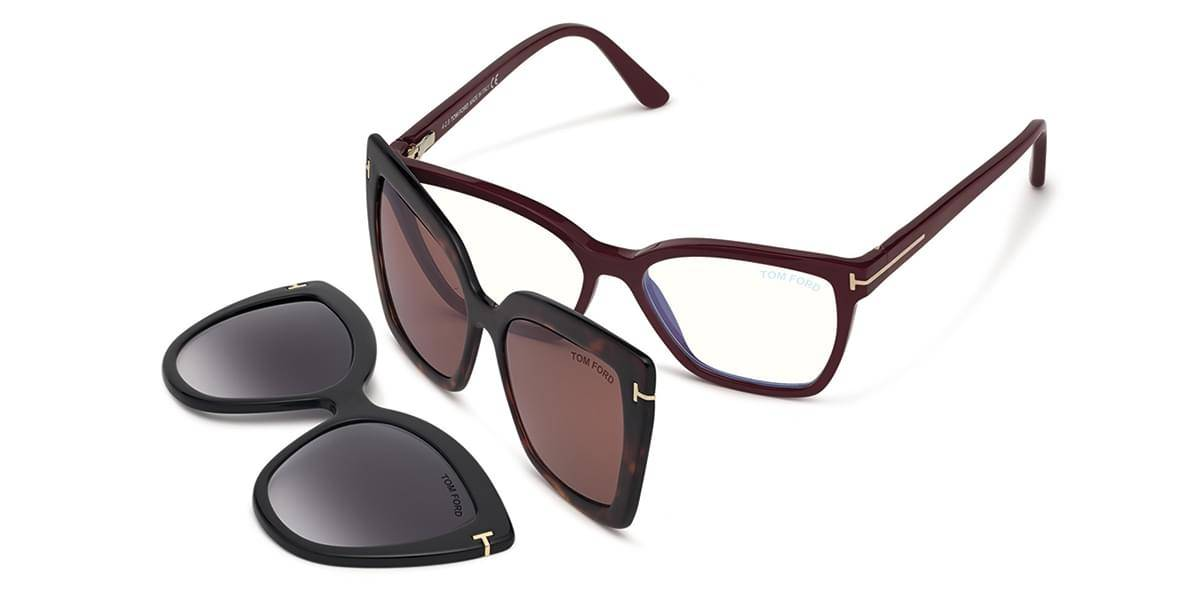Image of Tom Ford Silmälasit FT5641-B With Clip On 075