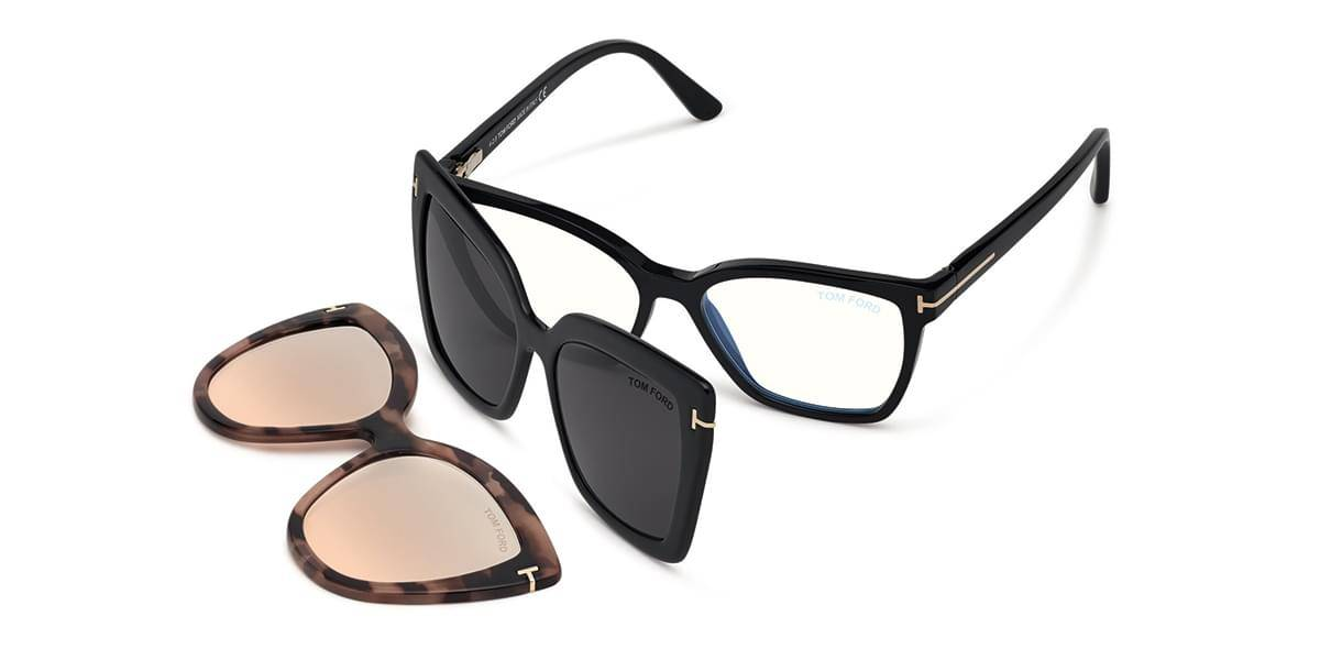 Image of Tom Ford Silmälasit FT5641-B With Clip On 001