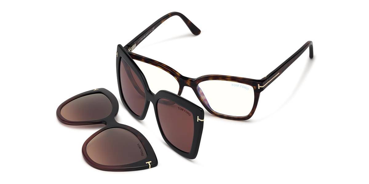 Image of Tom Ford Silmälasit FT5641-B With Clip On 054
