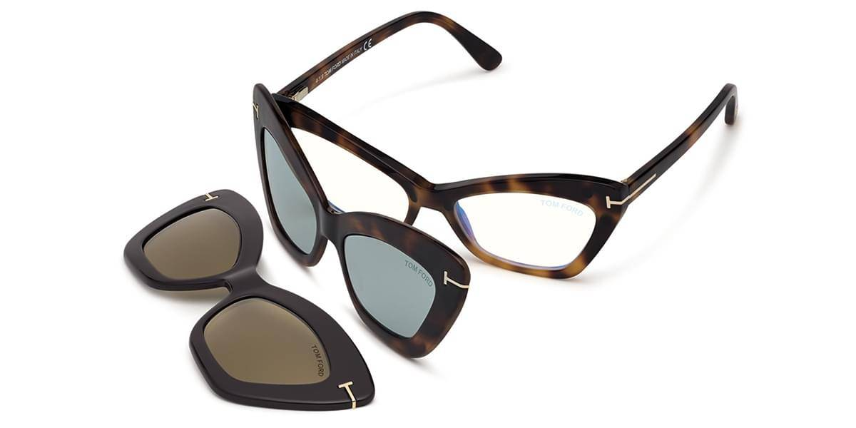 Image of Tom Ford Silmälasit FT5643-B With Clip On 052