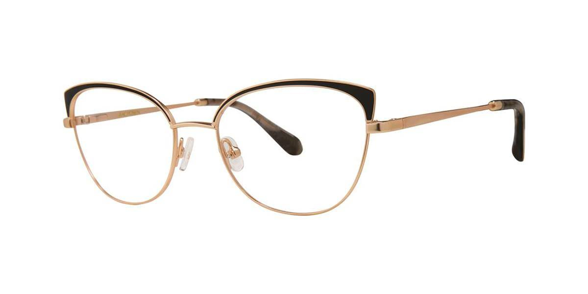 Image of Zac Posen Silmälasit DANDRIDGE Black Gold