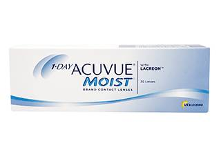 Image of Acuvue 1-Day  Moist 30 Pack Piilolinssit