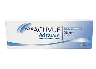 Image of Acuvue 1-Day Moist for Astigmatism 30 Pack Piilolinssit