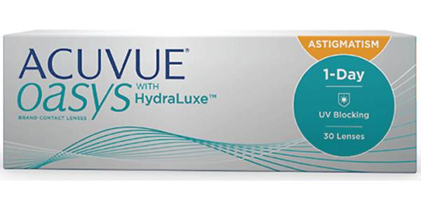 Image of Acuvue Oasys 1-Day for Astigmatism 30 Pack Piilolinssit