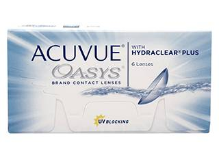 Image of Acuvue Oasys 6 Pack Piilolinssit