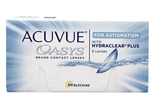 Image of Acuvue Oasys for Astigmatism 6 Pack Piilolinssit