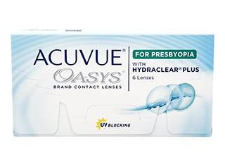Image of Acuvue Oasys for Presbyopia 6 Pack Piilolinssit