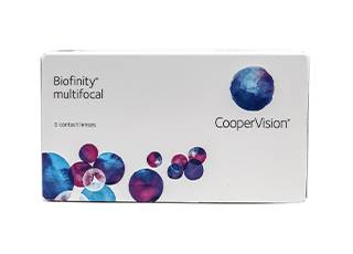 Image of Biofinity Multifocal 3 Pack Piilolinssit