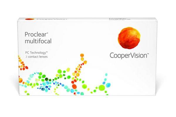 Image of Proclear Multifocal 3 Pack Piilolinssit