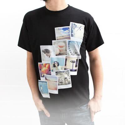Image of T-paita kuvalla valkoinen M
