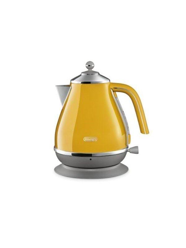 DeLonghi Vedenkeitin Kettle Yellow - Keltainen - 3000 W