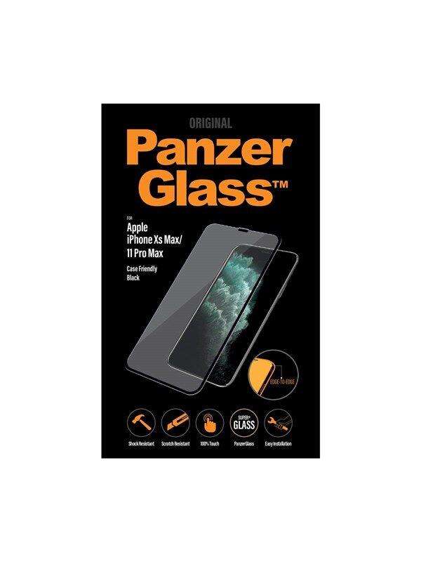 PanzerGlass Apple iPhone XS Max/11 Pro Max - Black (Case Friendly)