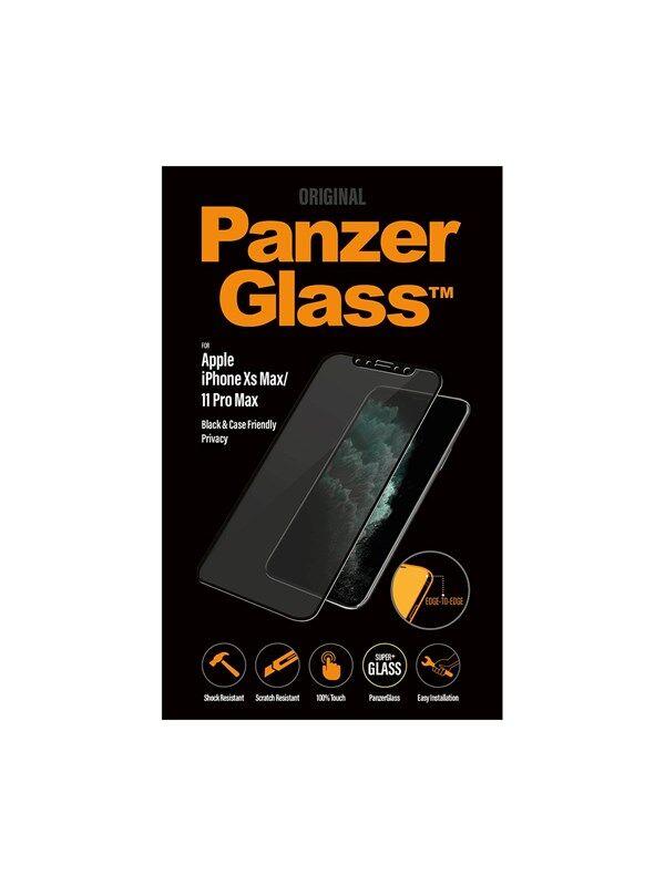 PanzerGlass Apple iPhone XS Max/11 Pro Max - Black (Case Friendly) - Privacy
