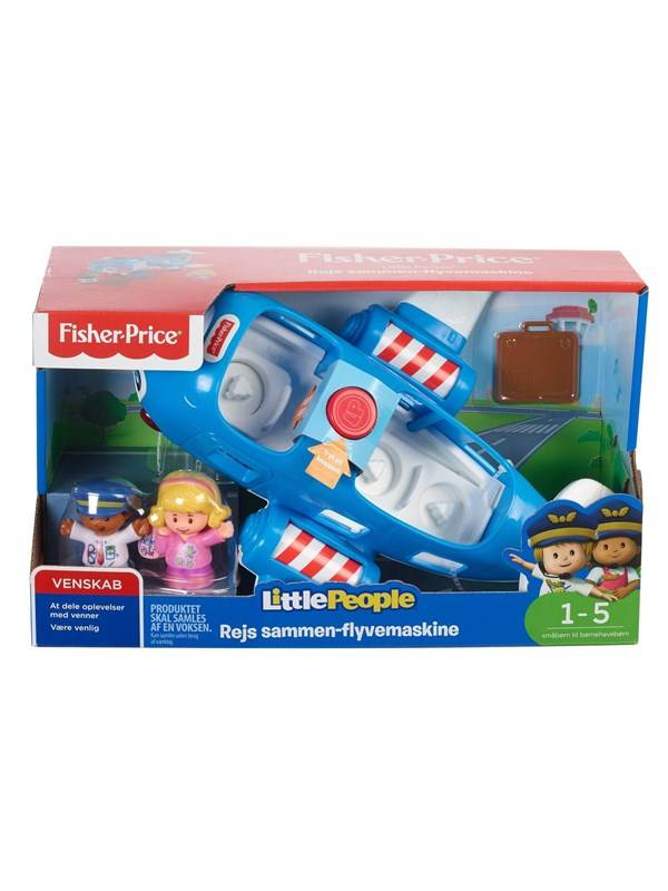 Fisher-Price People Travel Together Airplane DA