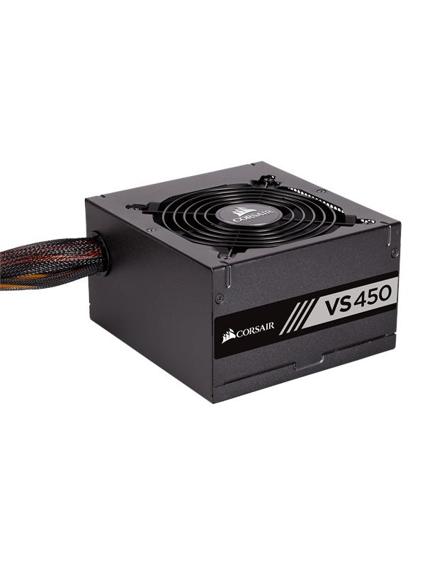 Image of Corsair VS450 v2 (2018) Virtal�hde - 450 Watt - 120 mm - 80 Plus Valkoinen sertifioitu