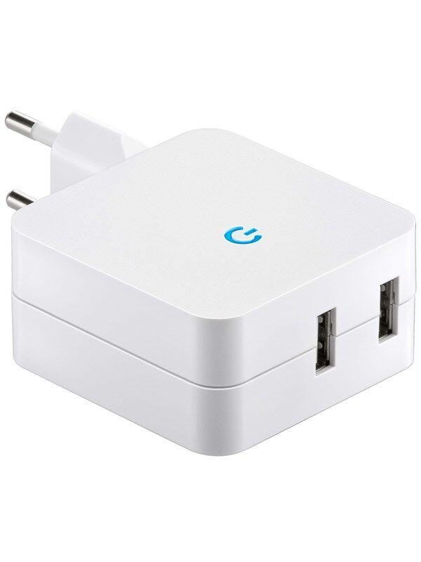 Pro USB Charger 230V (4.1A) - White