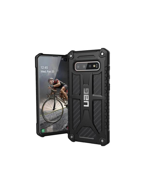 UAG Rugged Case for Samsung Galaxy S10 Plus [6.4-inch screen] - Monarch Carbon Fiber