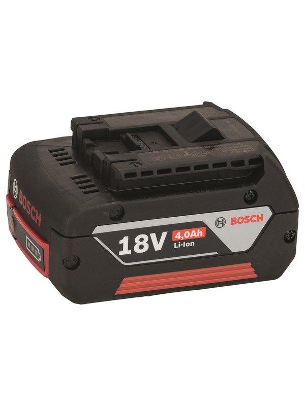 Bosch 18 V:n akku Heavy Duty (HD), 4,0 Ah, Li-Ion, GBA M-C