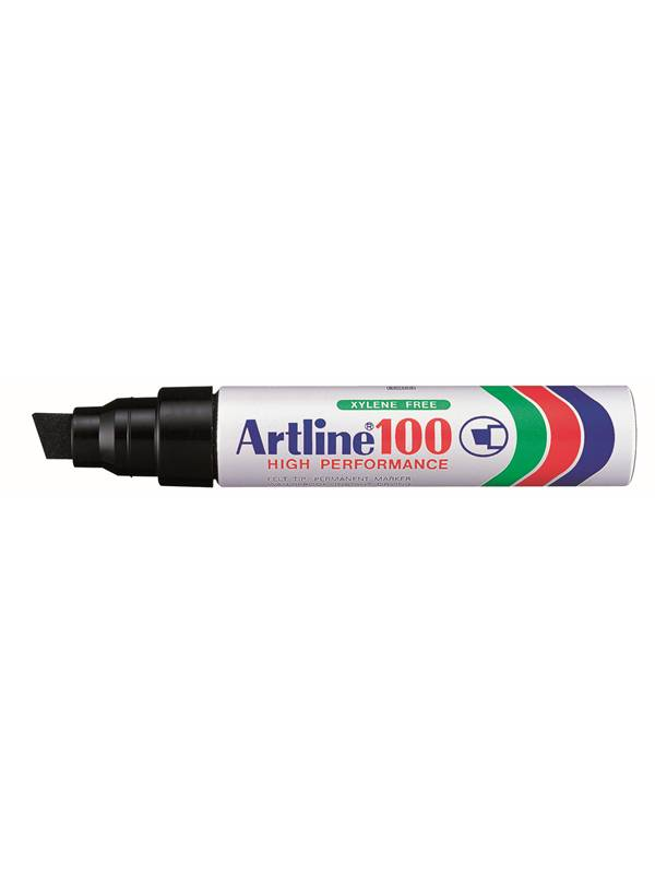 Artline EK100-A Permanent Black - 6 pcs.