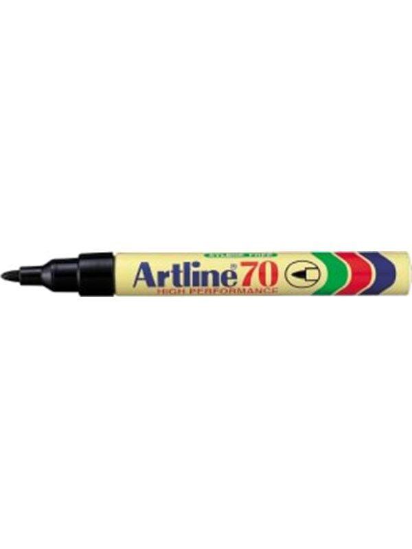 Artline EK70-A Permanent Black - 12 pcs.