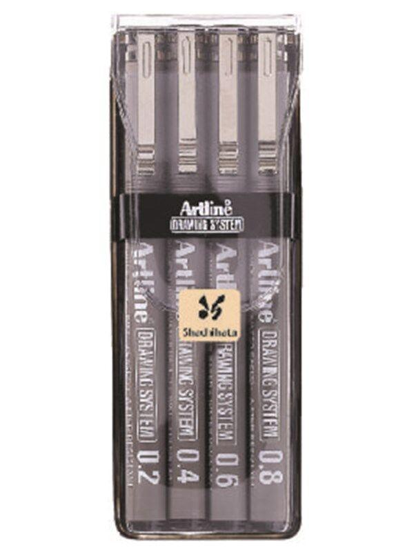 Artline EK2304W2 Drawing 4 pen