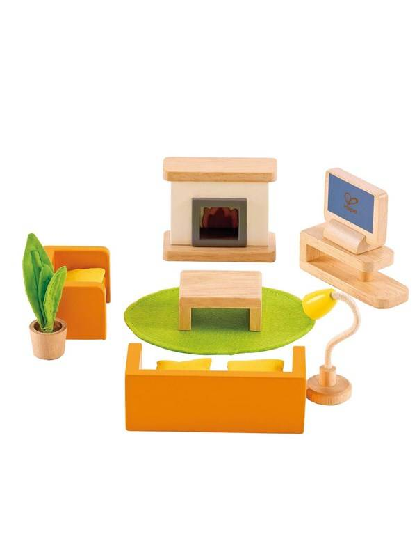 Hape Dollhouse Tv Room