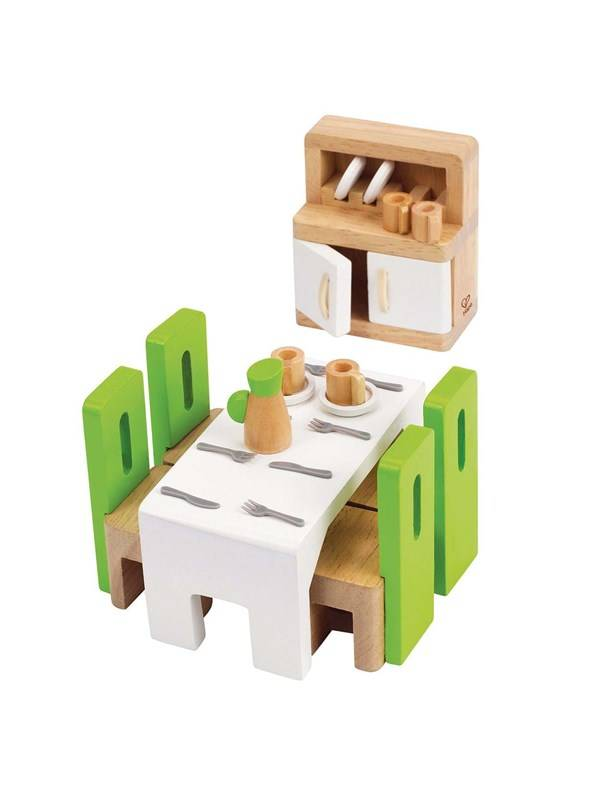 Hape Dollhouse Dining Room