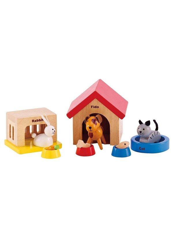 Hape Dolls House Pets