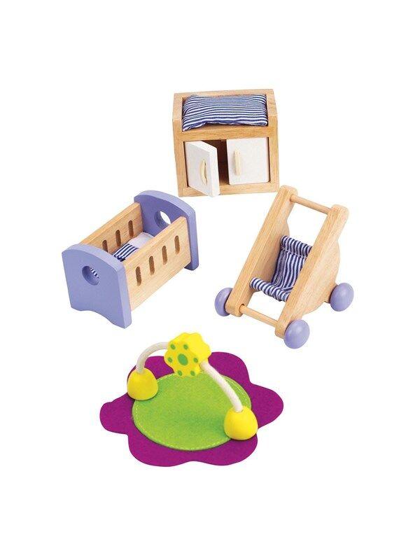 Hape Dollhouse Baby Room