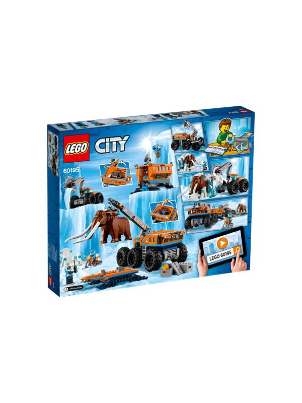 Lego City 60195Arktisen tutkimusretken siirrett�v� tukikohta