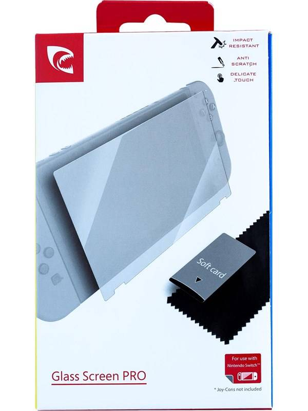 PIRANHA Glass Screen Pro for Nintendo Switch - Peliohjaimen lis�osat - Nintendo Switch