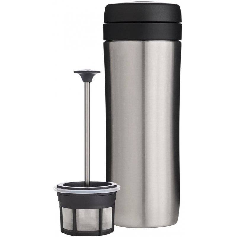 Espro Coffee Travel Press termospressomuki 350 m. harjattu teräs