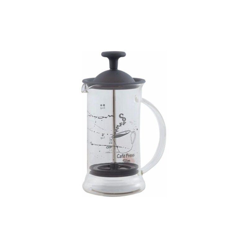 Hario Cafe Press Slim pressopannu 240 ml. musta