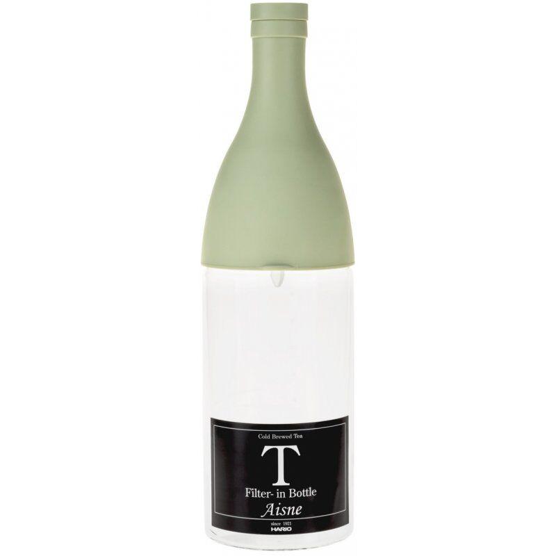 Hario Aisne Filter-In Bottle cold brew teepullo 800 ml. vihreä