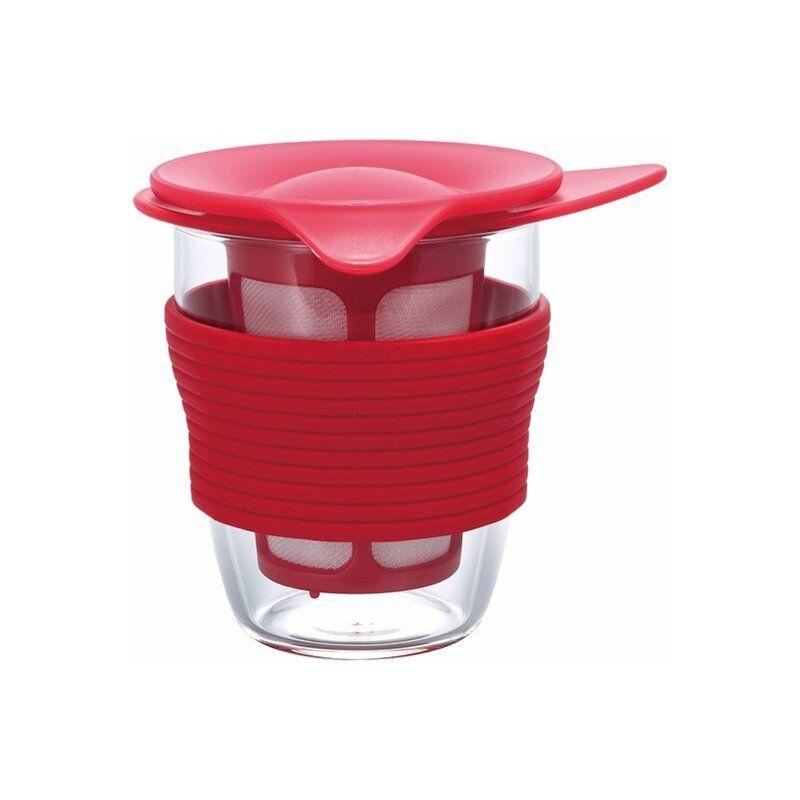 Hario Handy Tea Maker 200 ml. punainen