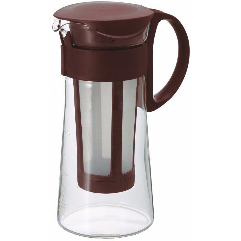 Hario Mizudashi Coffee Pot cold brew kannu 600 ml. ruskea
