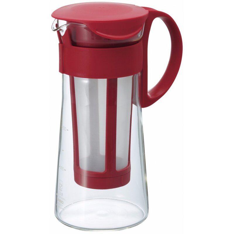 Hario Mizudashi Coffee Pot cold brew kannu 600 ml. punainen